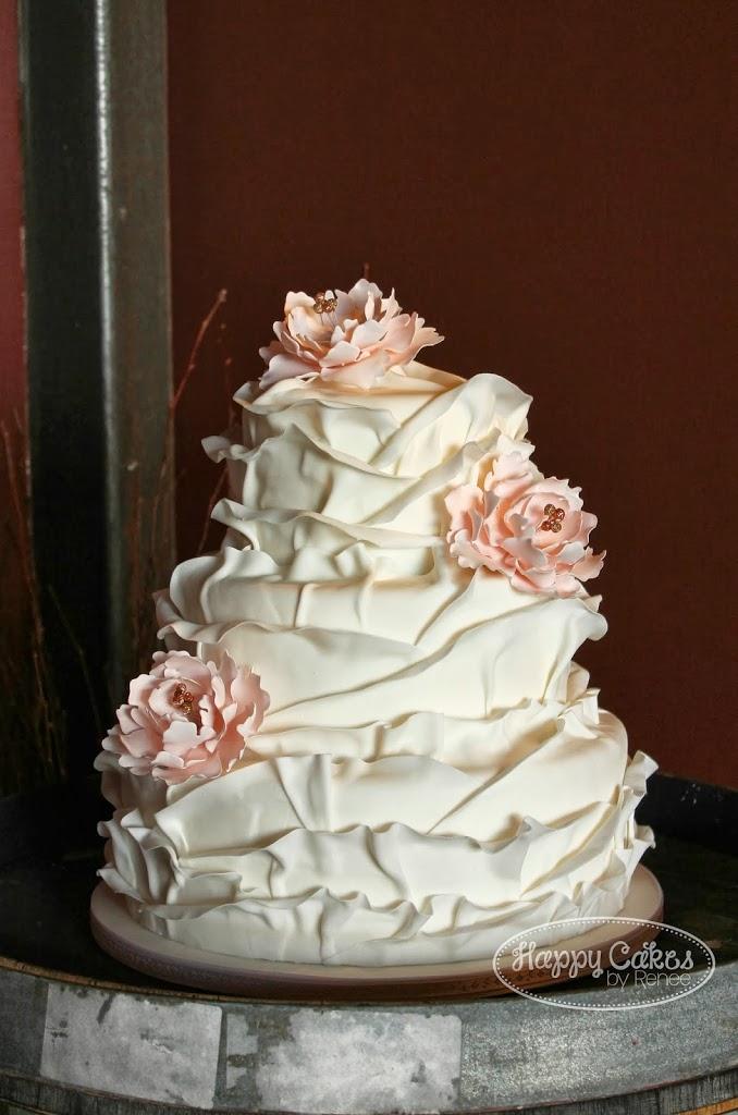 Ruffled Petal Cake!