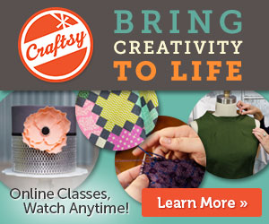 Craftsy Flash Sale! (October 30th-31st)