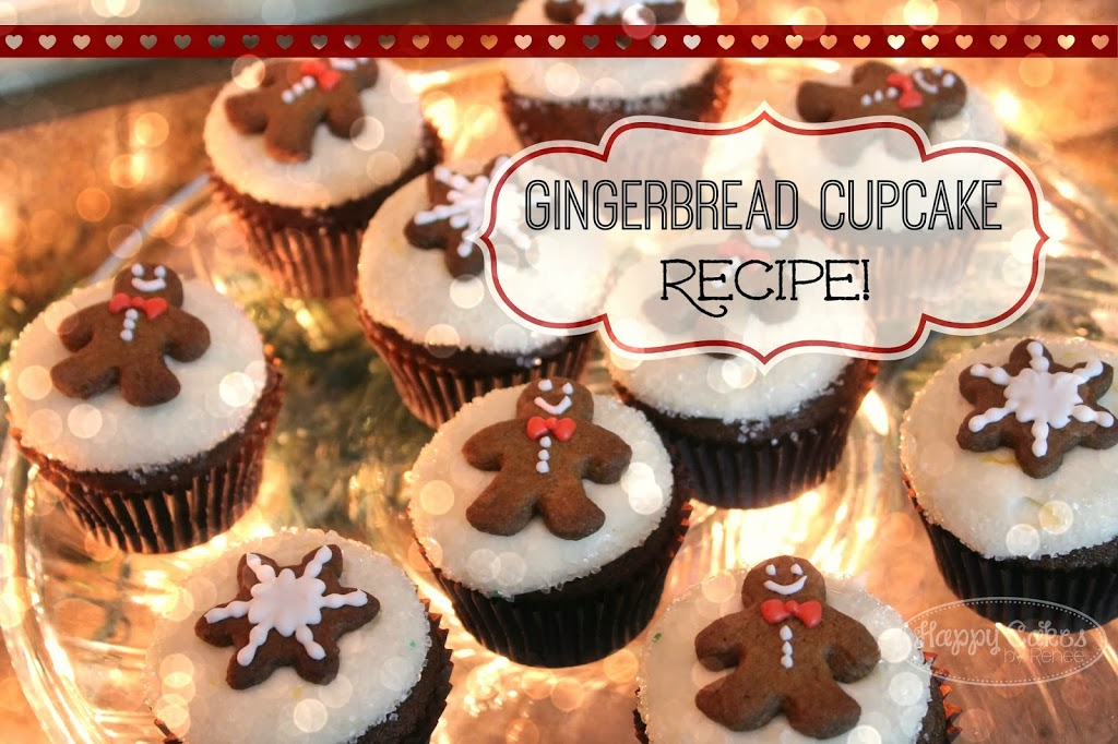 Gingerbread Cupcake Recipe!!