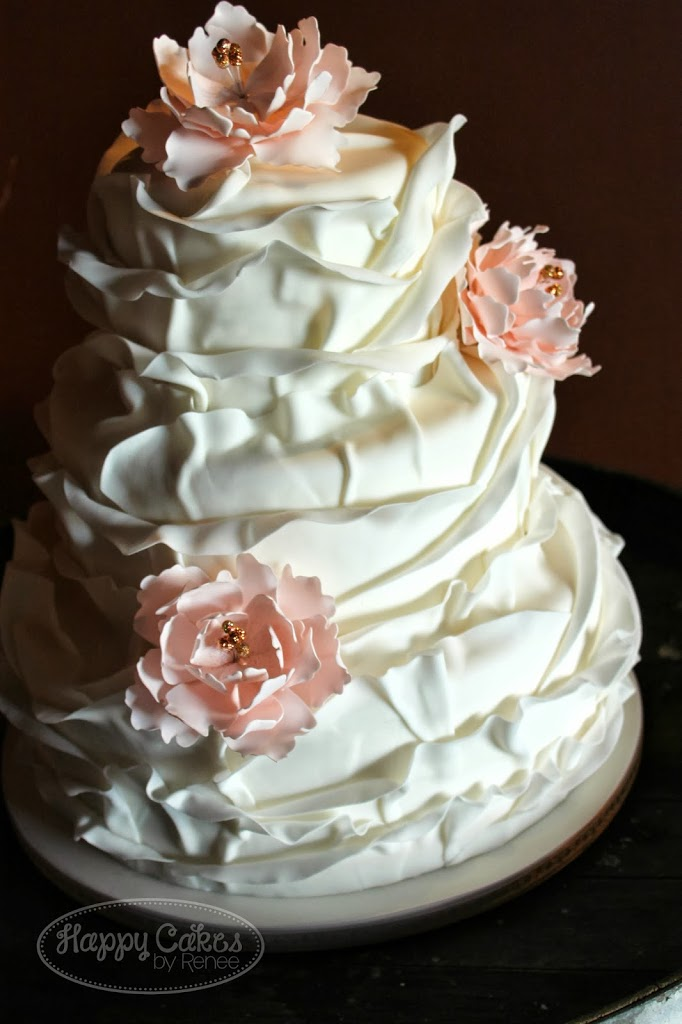 Ruffled Petal Cake Tutorial!