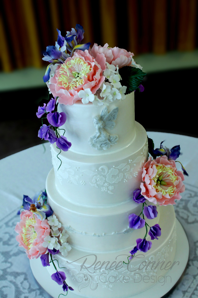 Fairies, Flowers & Lace Cake 1W