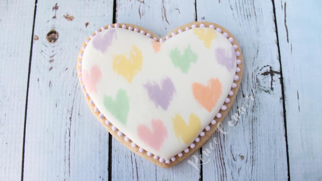 Sweetheart Valentine Cookie BlankW
