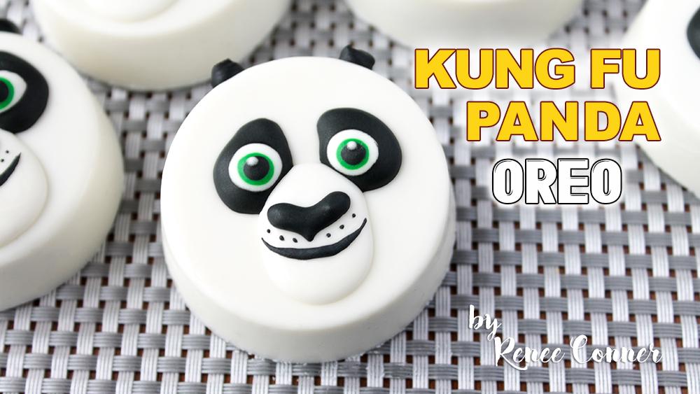 """Kung Fu Panda 3 Oreos """"Po"""""""