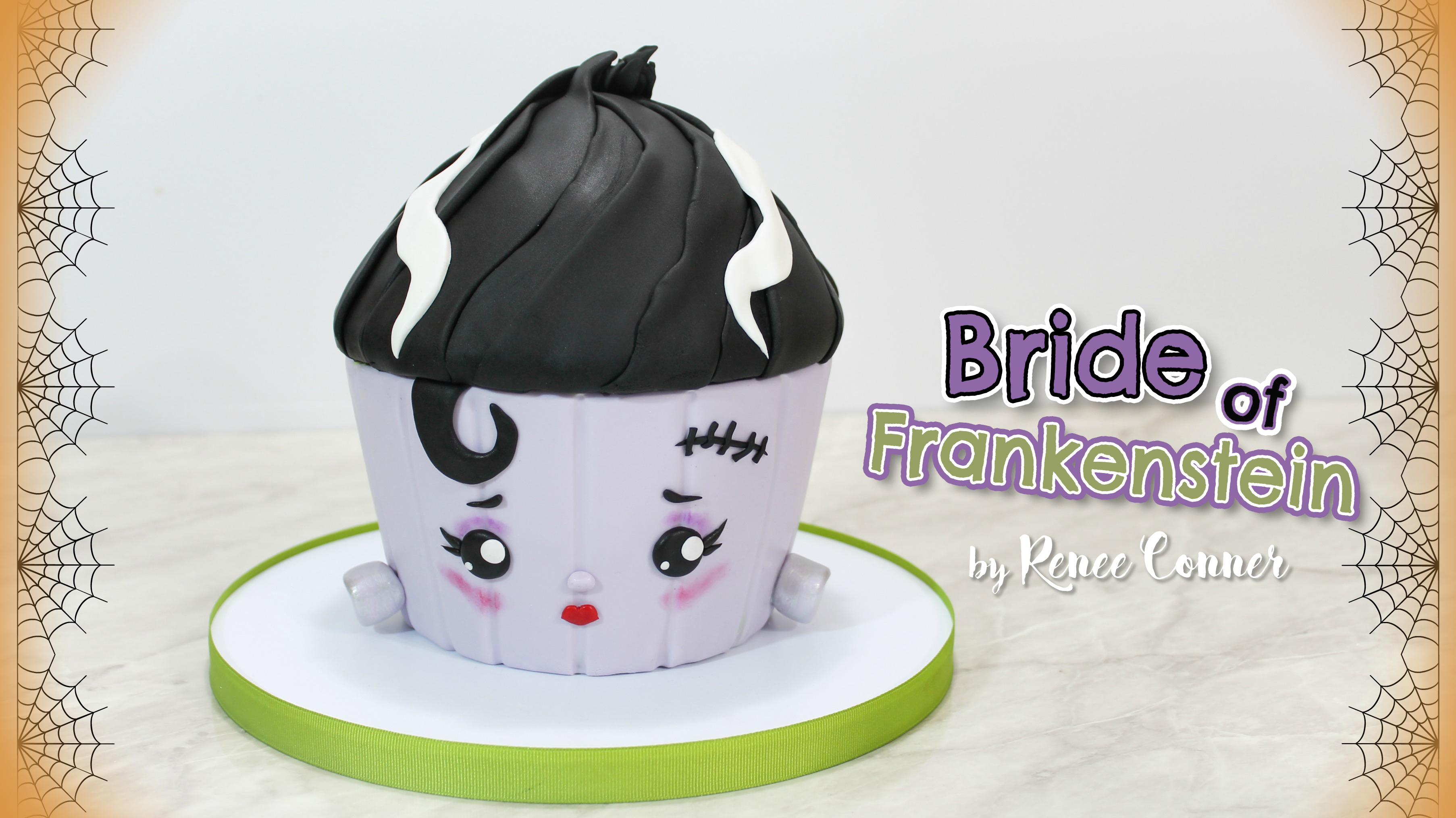 Bride of Frankie Giant Cupcake!