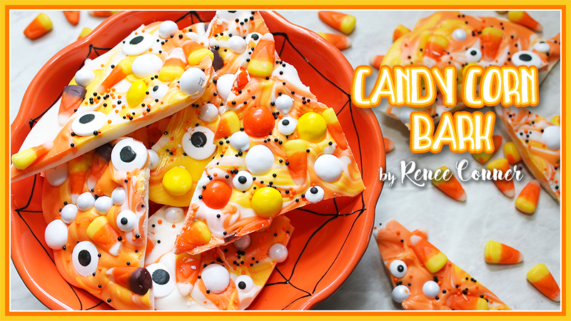 Candy Corn Bark | Renee Conner