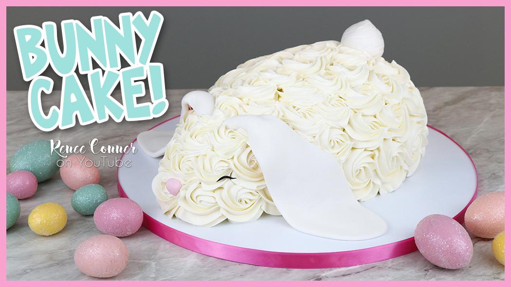 Rosette Bunny Cake- EASY!